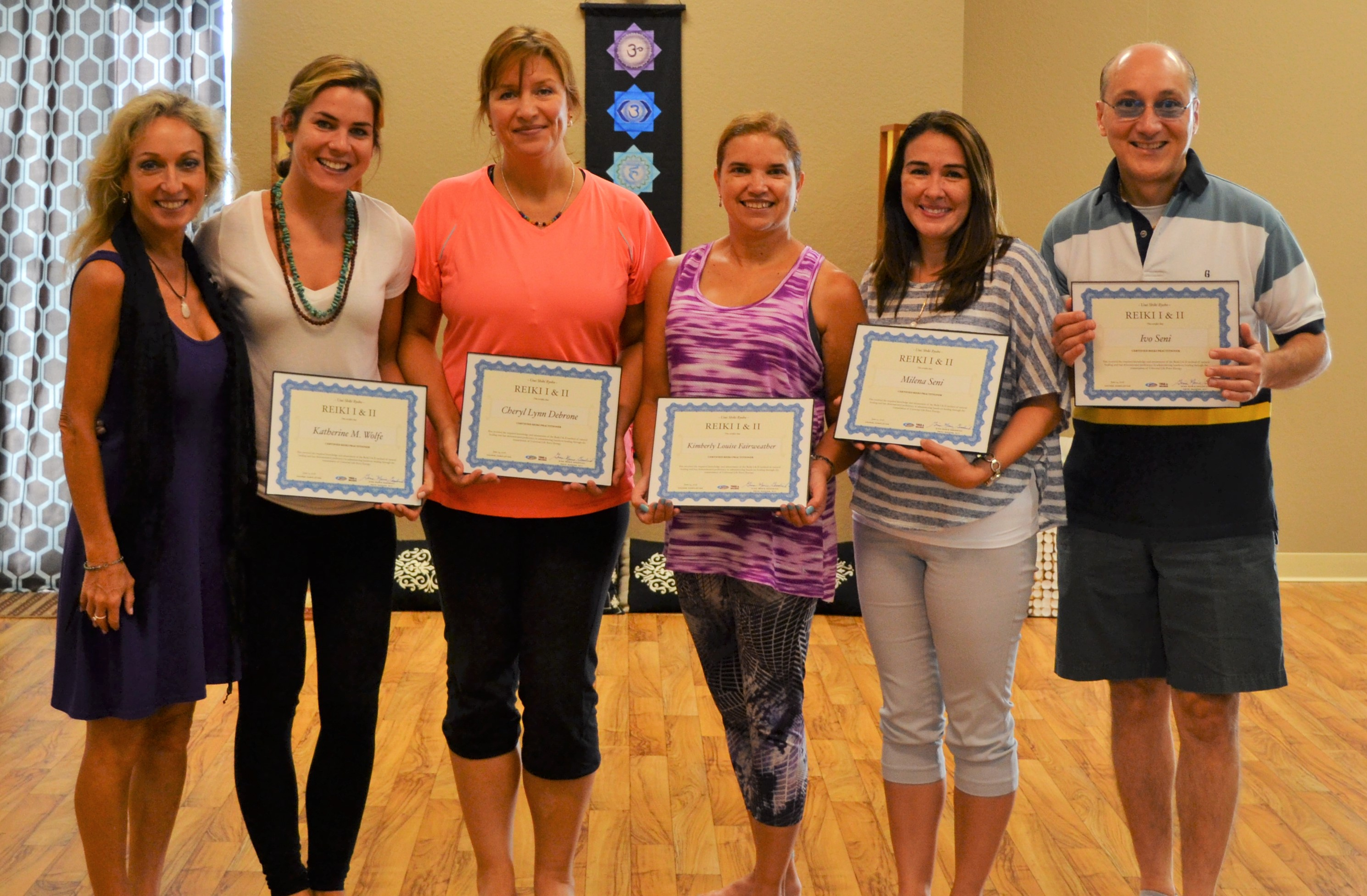 Fusion's 1st EVER Reiki I & II Certification & Training Course